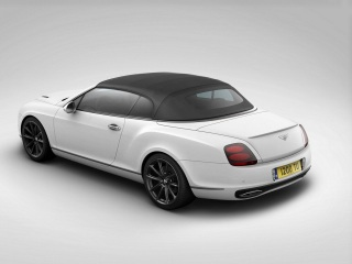 2012 Bentley Supersports Ice Speed